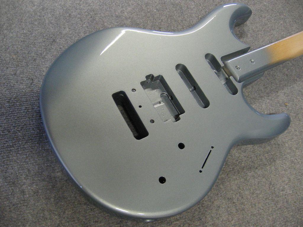 Mercedes Benz silver metallic