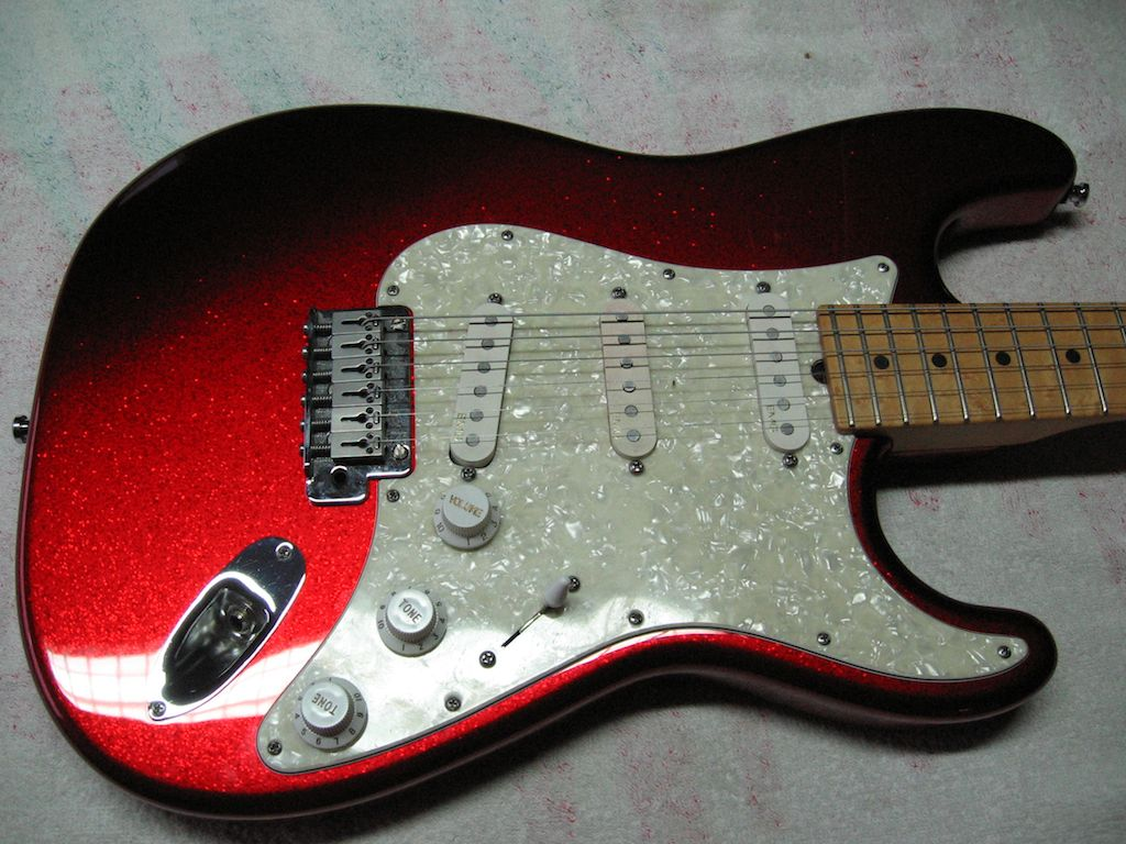stb red sparkle